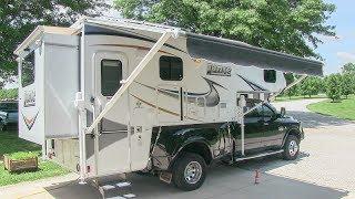 2013 Lance 1172 slide-in truck camper walk-around tutorial video