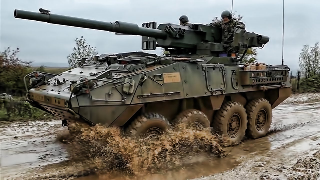 Stryker Warfare Armored Fighting Vehicles Youtube