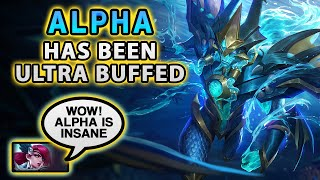 Wow! I Can't Believe How Much Moonton Buffed Alpha | Mobile Legends