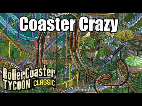 Roller Coaster Tycoon Classic - Coaster Crazy