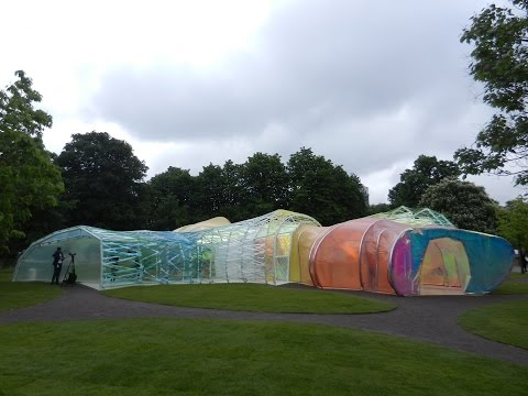 Opening of the 2015 Serpentine Gallery Pavilion by SelgasCano