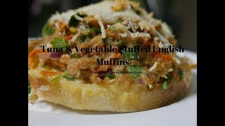 Tuna & Vegetable Stuffed English Muffins (Easy Meals)