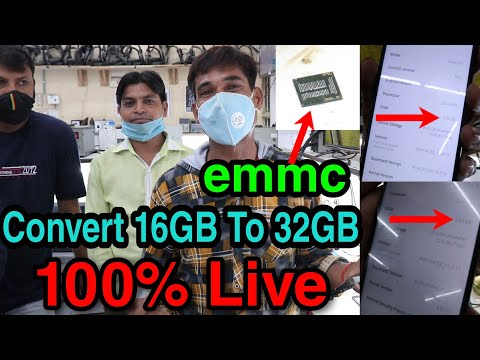 eMMC Upgrade 16GB To 128GB Hundred Percent Live Videos Student, Asia Telecom #EMMC