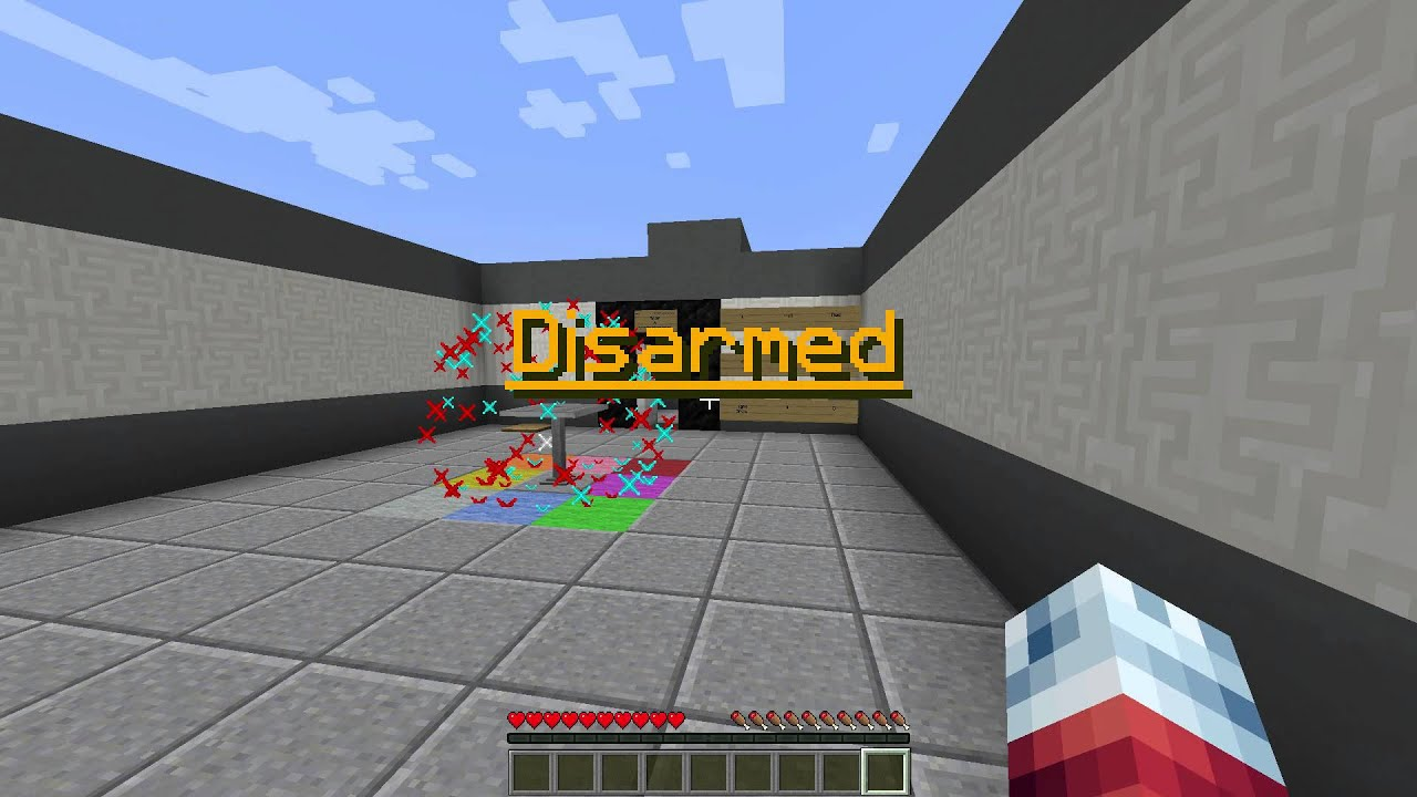 Disarm the Bomb Map