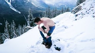 NAKED PHOTOS IN THE SNOW