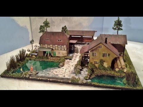 Ein m hlenmuseum entsteht modellbahn h0 modelleisenbahn for Modellhaus bauen