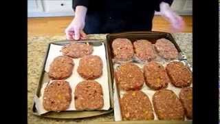 Food Storage - Salisbury Steaks Recipe