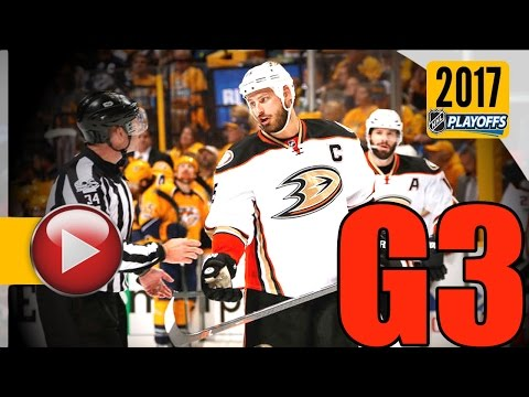 Anaheim Ducks vs Nashville Predators. NHL 2017 Playoffs. Western Conference Final. Game 3. (HD)