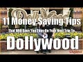 How To Save Money at Dollywood - 11 Must Know Tips - From Half Price Admission to Free Drinks