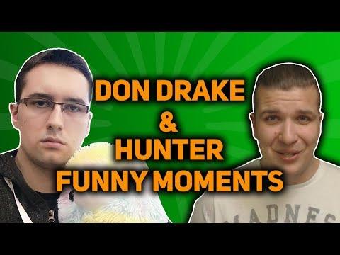 funnymoments hunter drake HUNTER I DRAKE MANIPULUJĄ WIDZAMI? FM 23 w DonDrake i Hunter