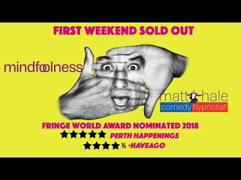 Mindfoolness! Comedy Hypnotist Matt Hale sizzle - BIG FIRST WEEKEND