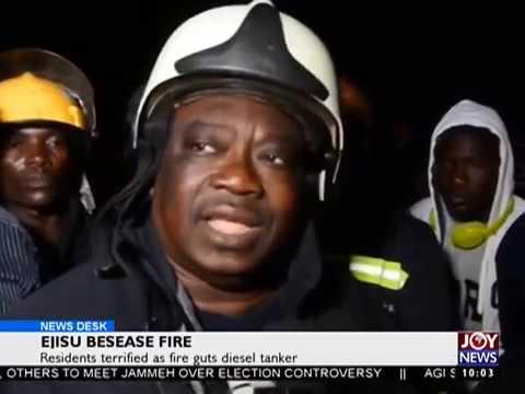 Ejisu Besease Fire - News Desk on Joy News (14-12-16)