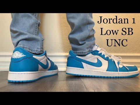 Jordan 1 Low SB UNC On Feet + Sizing