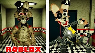 NEW SCARY Animatronics in Roblox Project Shirley 2