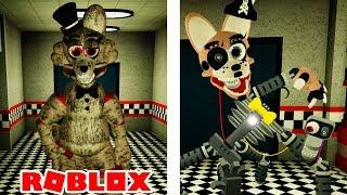 NOVO animatronics assustador no projeto Roblox Shirley 2