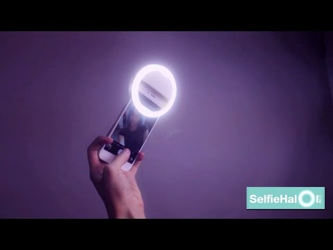 Selfie Halo | selfie ring light, selfie light - http://SelfieHalo.com ➡️Save 85% Today