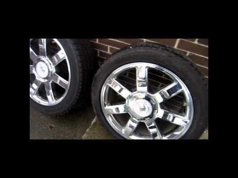 235 45 22 Cadillac Escalade Wheels.wmv