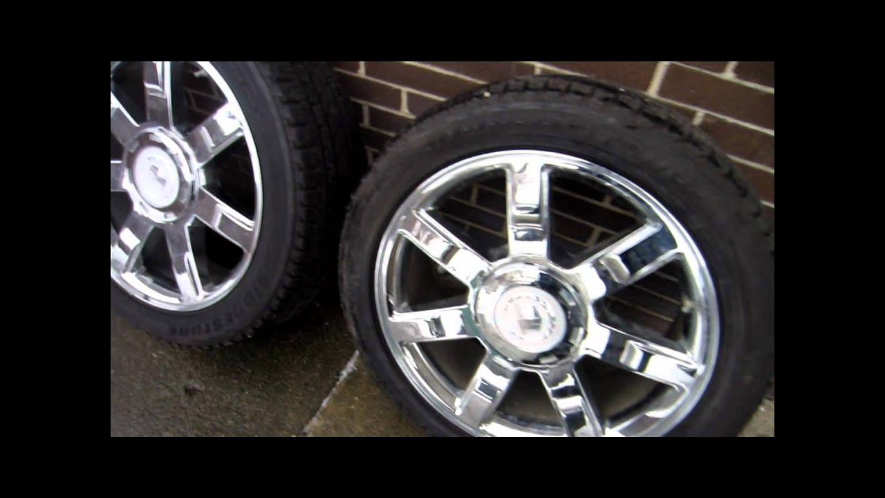 p s cadillac denali factory gunmetal oe of picture escalade inch wheels gmc