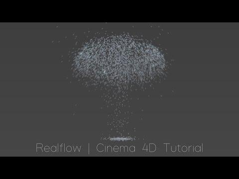 Realflow   Cinema 4D Tutorial - Mushroom Cloud