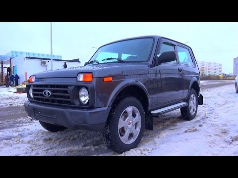 2015 Lada Niva 4x4 Urban. Start Up, Engine, and In Depth Tour.