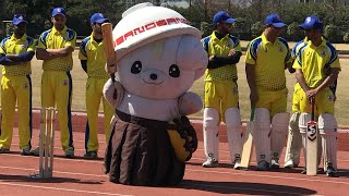 Cricket in Japan   Exhibition match in Sano vs India