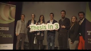 Thesis in 3 National Final 2014