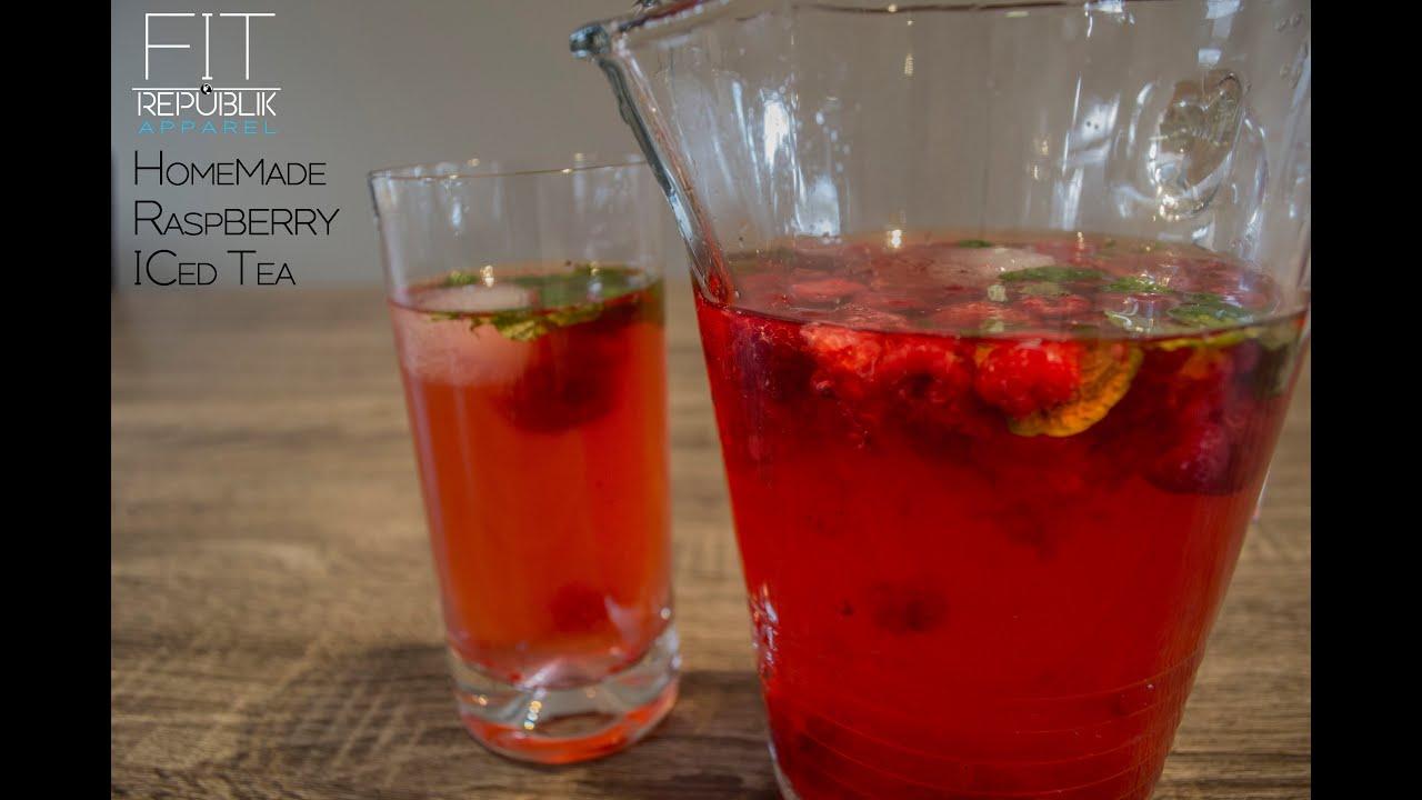 RASPBERRY ICED TEA - HEALTHY RECIPES