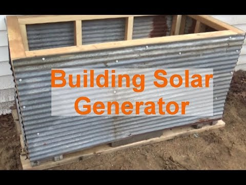 Building Solar Battery Box & Swapping Out Batteries