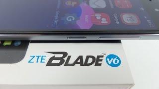 ZTE Blade V6 unboxing