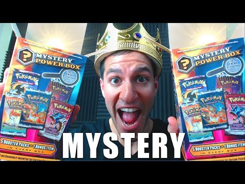OPENING POKEMON MYSTERY POWER BOXES!