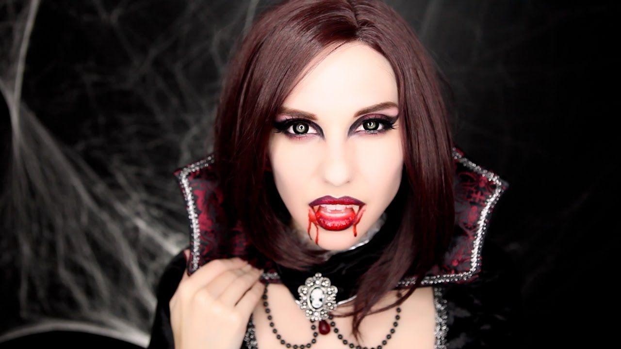 VAMPIRE MAKEUP TUTORIAL | Halloween 2015 - YouTube