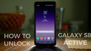 How To Unlock Galaxy S8 Active - Fast and Easy (Any GSM Carrier)