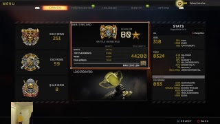 244+ solo wins - Blackout Live - old school cod player