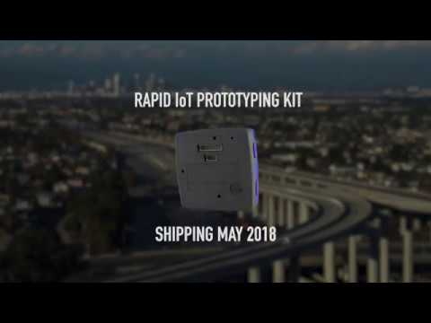 Presenting the Rapid IoT prototyping kit from NXP