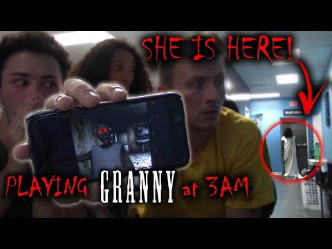 (GRANNY IS HERE) PLAYING GRANNY AT 3 AM AND SHE CAME TO US!