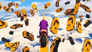 WORLD'S BIGGEST CAR AVALANCHE! (GTA 5 Funny Moments)
