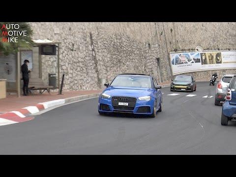 Audi RS3 SOUNDS in Monaco