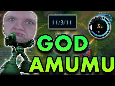 HOW TO TILT YOUR ENEMIES | S+ AMUMU JUNGLE CARRY - League of Legends Commentary
