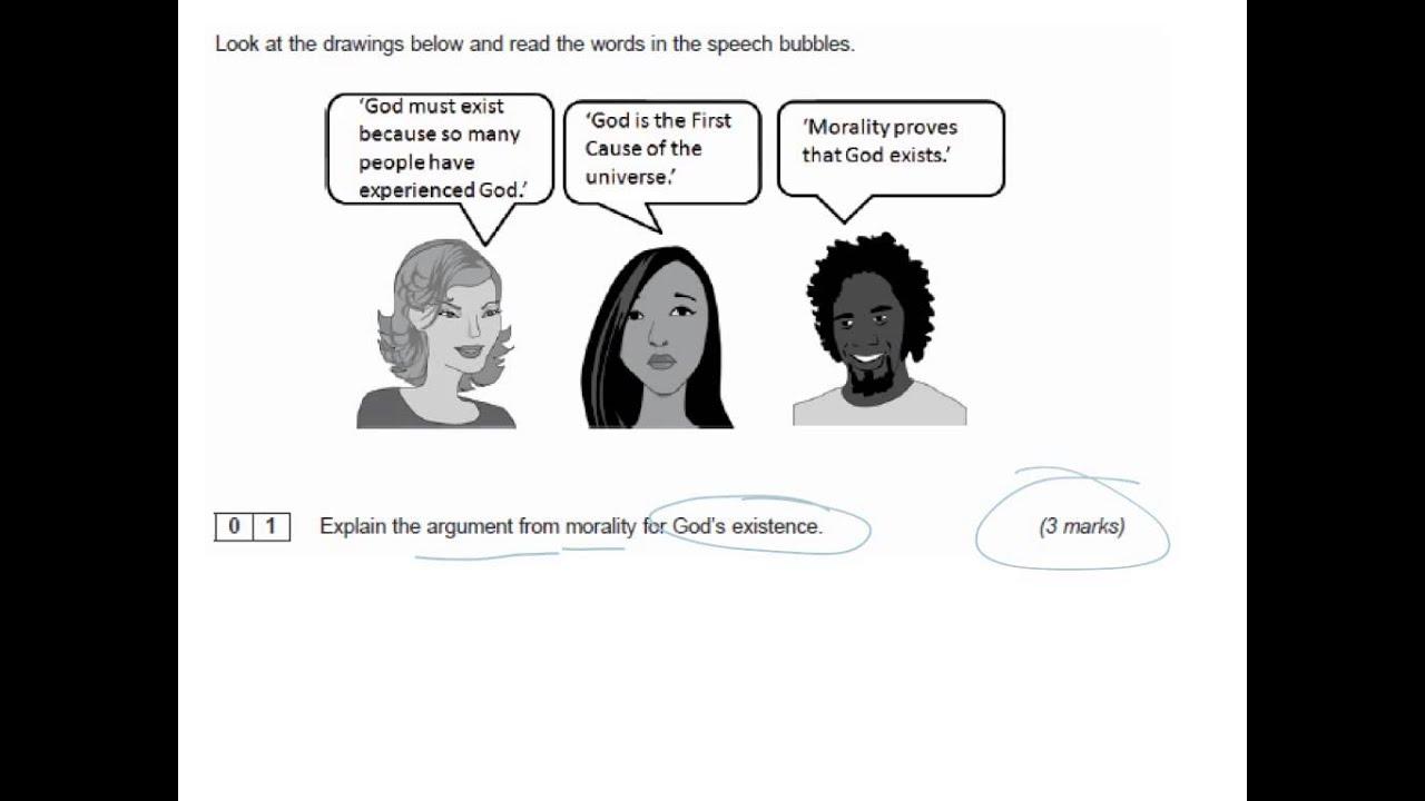 Gcse Aqa Religious Studies Existance of God Answers Helalinden com