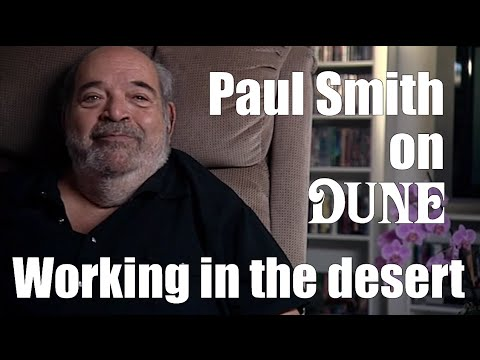Paul Smith - Working in the Desert