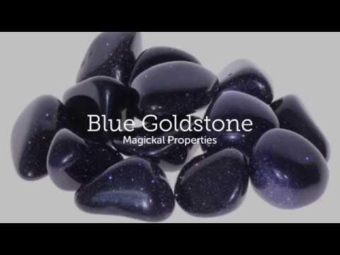 Magickal Properties of Blue Goldstone