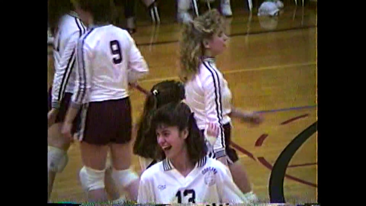 NCCS - Beekmantown Volleyball  1-18-89