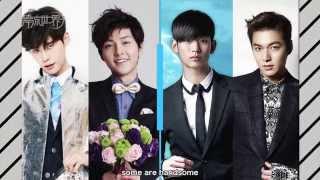 """TO BE Flower Boys Teaser """"花樣男子""""專輯 預告"""