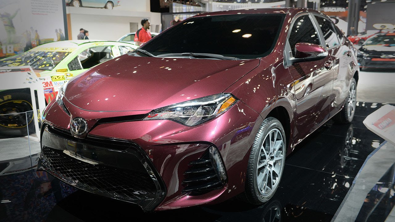 2017 toyota 50th anniversary 39 special edition corolla 39 2016 new york auto show youtube. Black Bedroom Furniture Sets. Home Design Ideas
