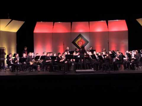 Hilton High School Wind Ensemble - Abram's Pursuit - Orlando, FL - April 25,2015