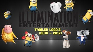 ILLUMINATION ENTERTAINMENT Trailer Logo's (2010 - 2017)