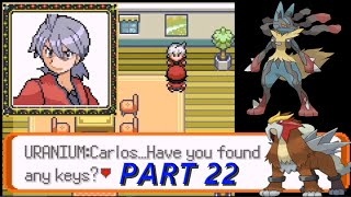 Pokemon Victory Fire Part 22: Mega-Lucario, Entei + A Secret Key