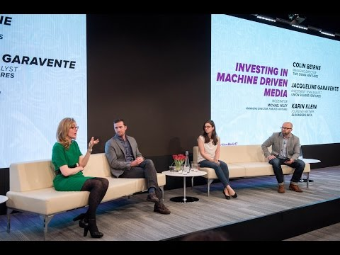 Machines + Media: Investing in Machine Driven Media