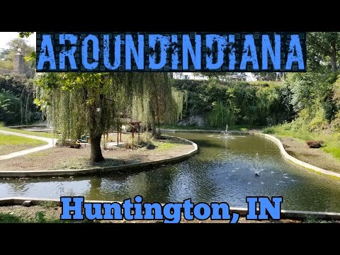 From Abandoned Quarry To Sunken Garden - Huntington, Indiana