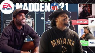 NFL Stars Michael Vick & Marshawn Lynch Battle it Out in Madden 21'   Madden 21 Tailgate